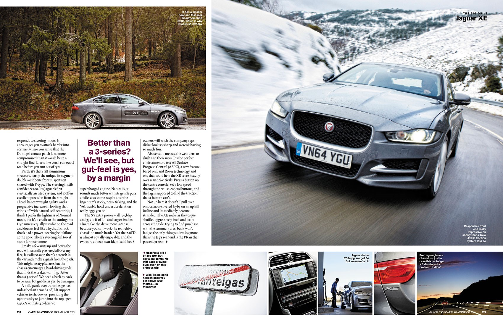 We drove an early Jaguar XE to Gibraltar in a 1351-mile adventure drive