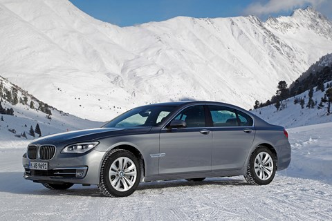 The F01-era BMW 7-series. The first of the F family in BMW codename hierarchy
