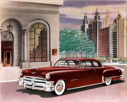 1951 Imperial featured 'Hydraguide' power steering