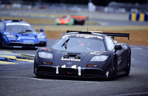 McLaren F1 GTR scooped victory at Le Mans at its first attempt. Not bad for a road car