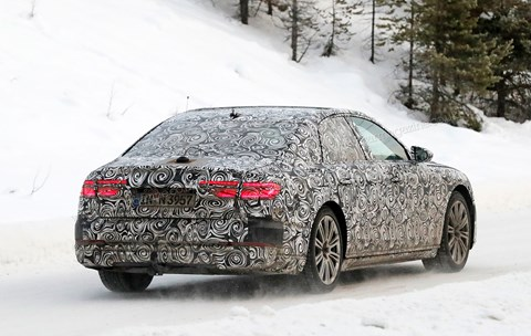 Audi A8: the new 2017 one