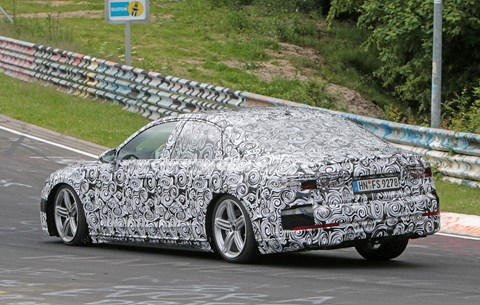 The new Audi A8 codenamed D5