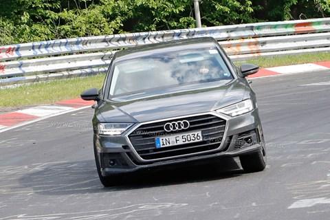 Audi S8 front quarter