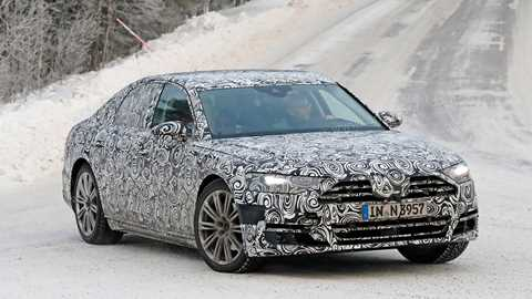 Audi Spy Shots By Car Magazine