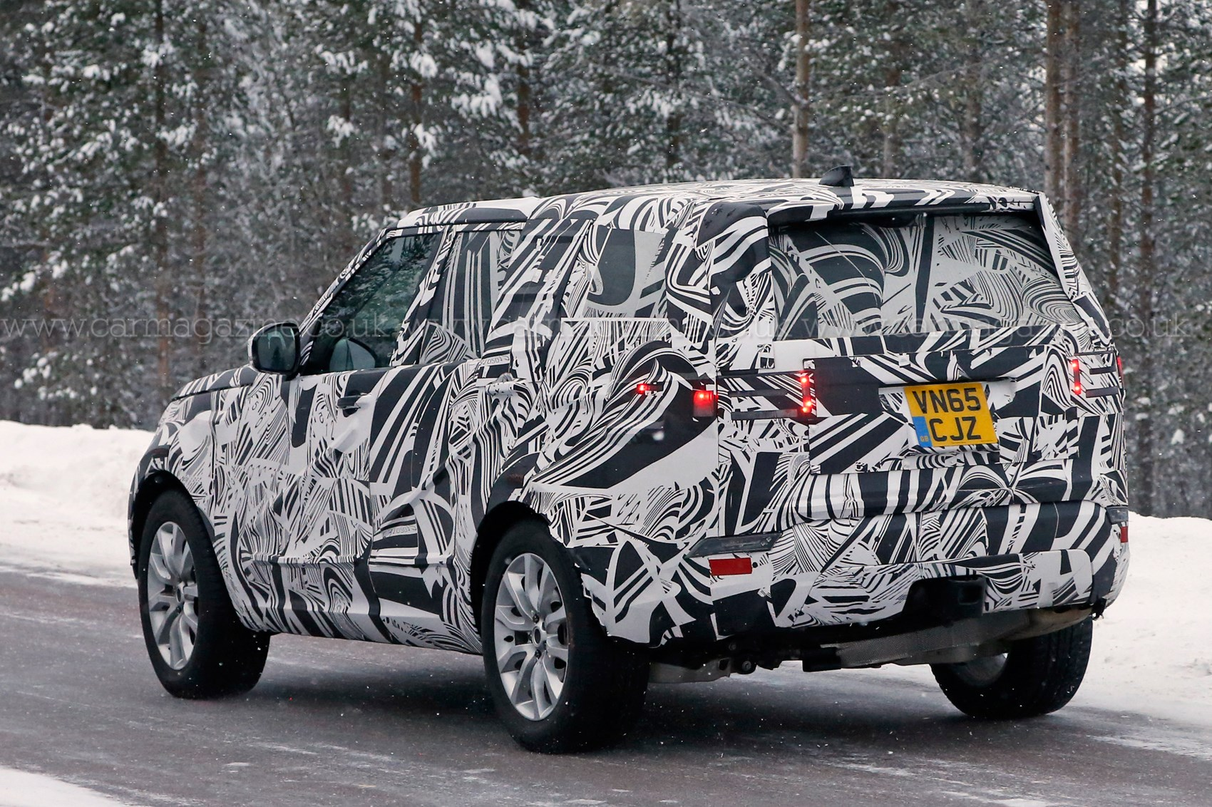 on road landrover goes rover tests discovery sport sale go land the new