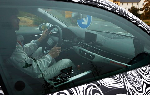 Audi A5 spy shots