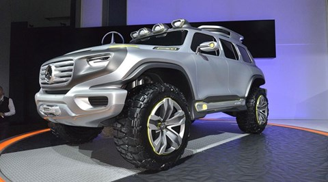 The Mercedes-Benz Ener-G Force concept car from 2012: clues to the 2019 GLB