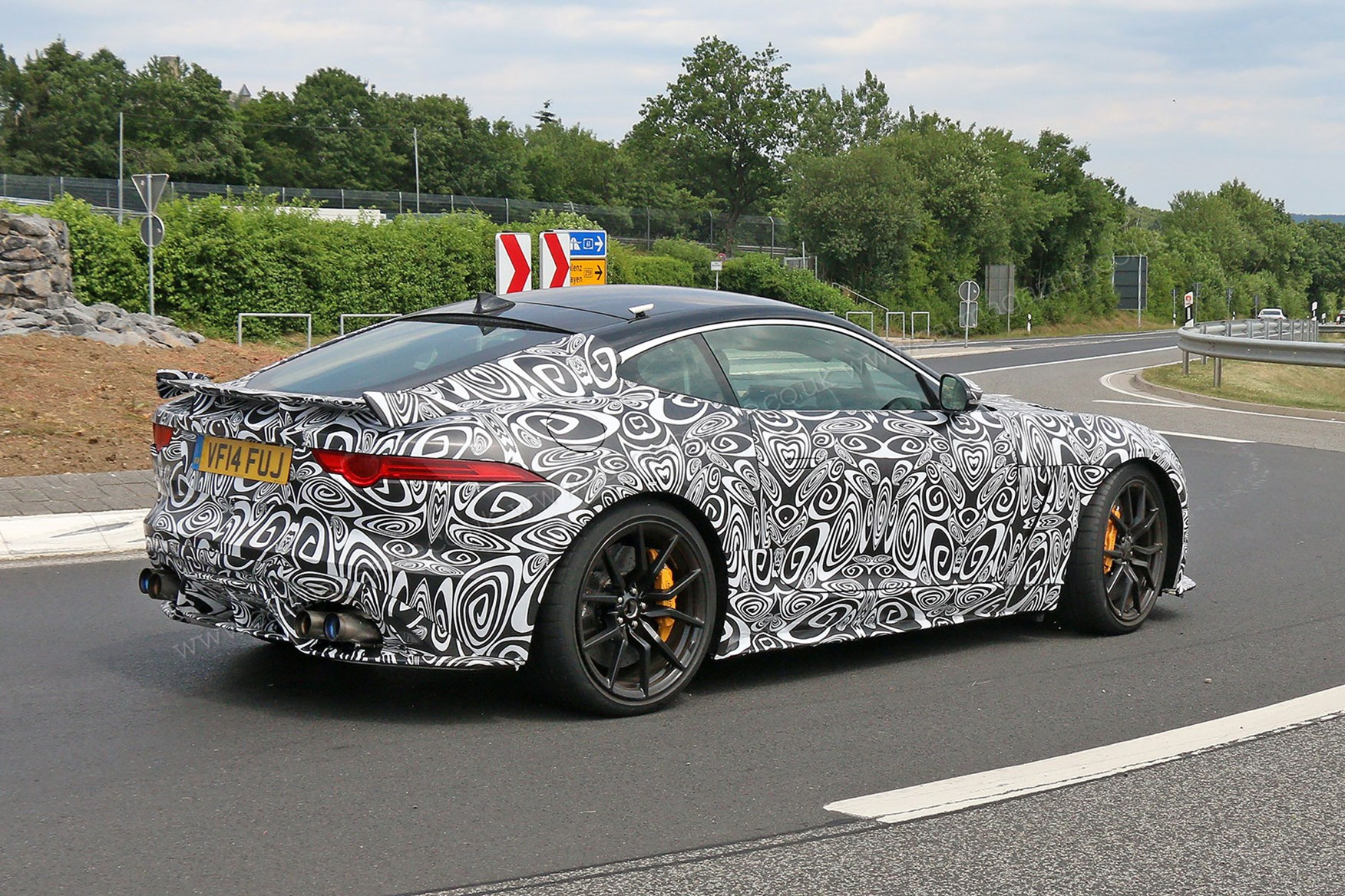 Our First Look At The Jaguar F Type SVR Coupe