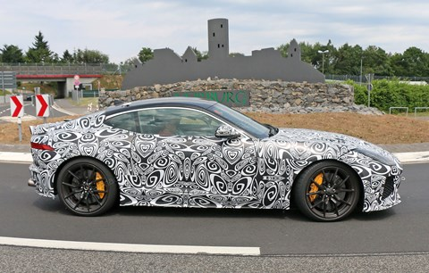 See the Jaguar F-type SVR in 2016