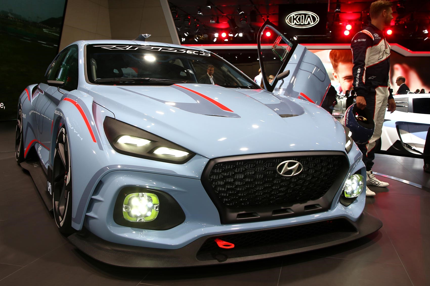 Race Ya Hyundai Rn30 Concept Takes New N Performance Brand To