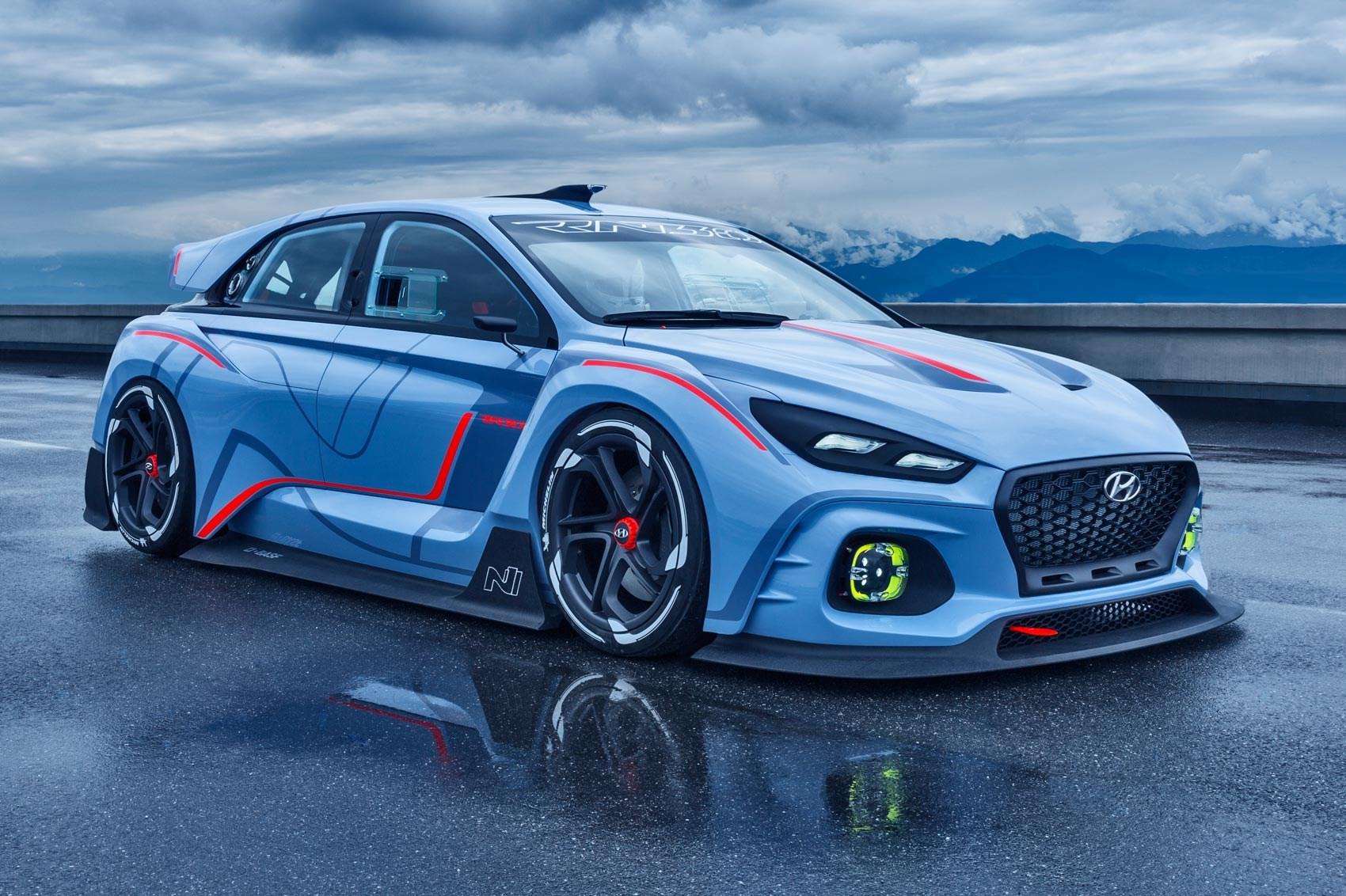 2016 Hyundai RN30 Concept; Race Ya! Hyundai RN30 Concept Takes New N  Performance Brand To Extremes ...