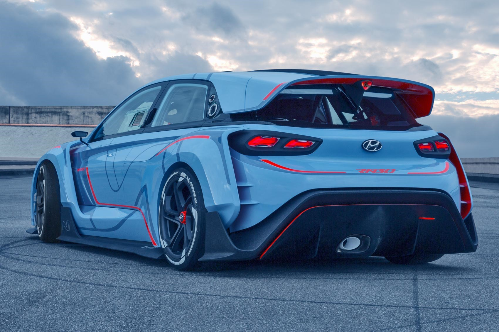 Race ya! Hyundai RN30 concept takes new N performance nd to ...