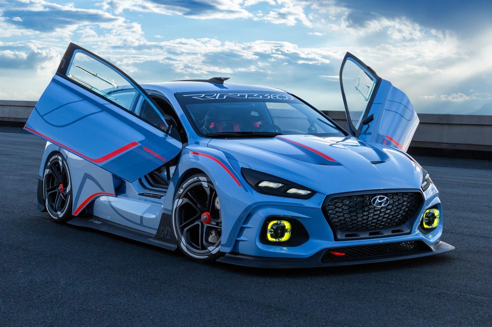 Race Ya! Hyundai RN30 Concept Takes New N Performance