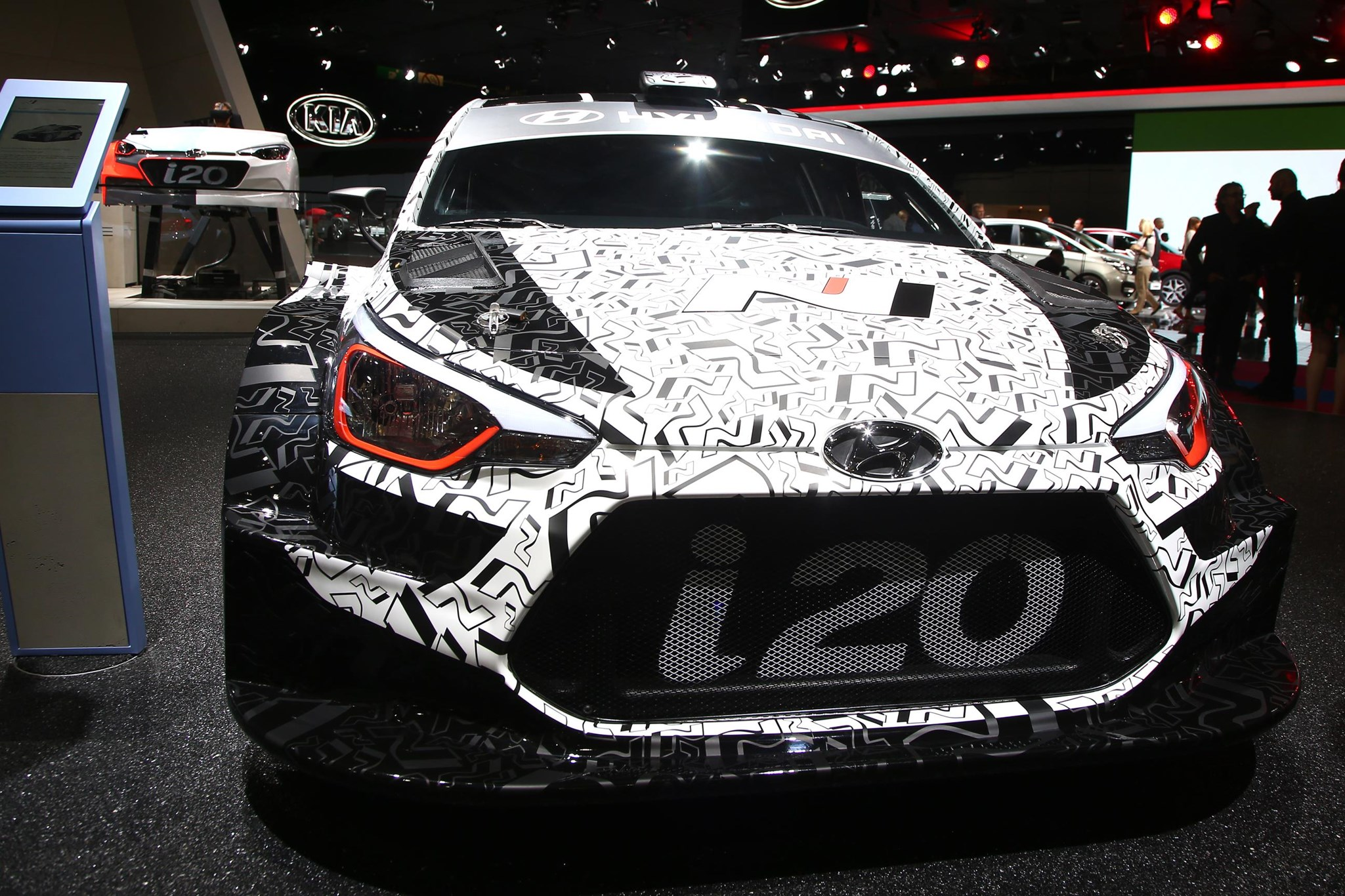 Hyundai I WRC Rally Car Previewed At Paris Motor Show CAR - Hyundai car show