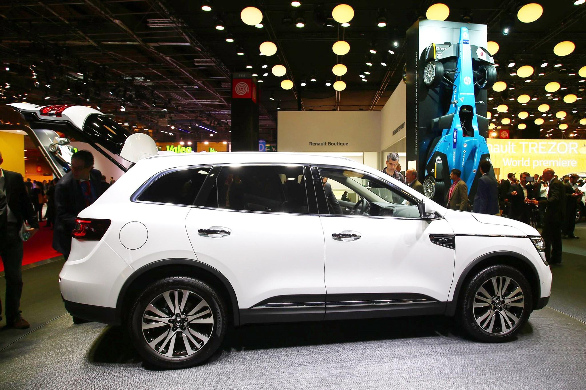 Upmarket Renault Koleos Initiale Paris Revealed By CAR