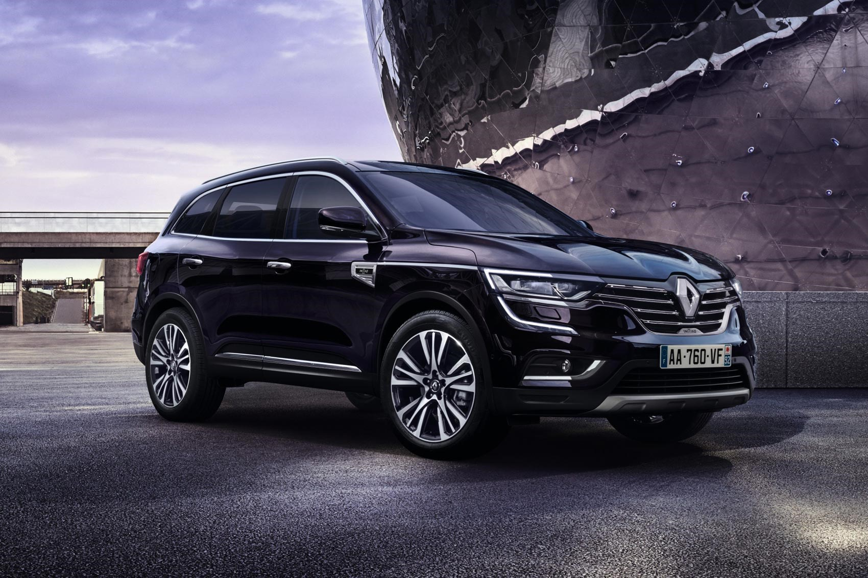 Upmarket Renault Koleos Initiale Paris Revealed By Car Magazine