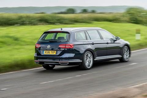 VW Passat Estate long-term rear tracking
