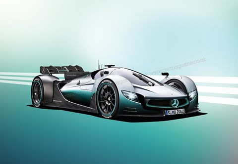 AMG hypercar artist's impression created for CAR magazine UK