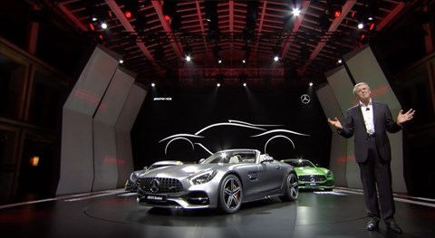 Merc's R&D chief announces F1-engined hybrid road car