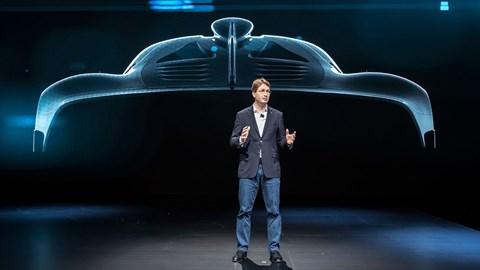 AMG X1, Cenevre Otomobil Fuarı 2017'de kısaca parladı