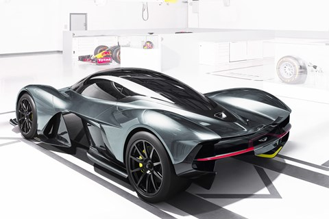 The Aston Martin Red Bull RB001 rival