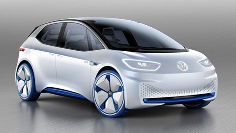 The new electric VW concept I.D.