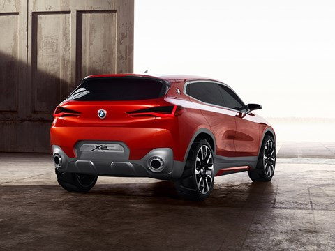 BMW's Paris motor show news: the X2 concept car