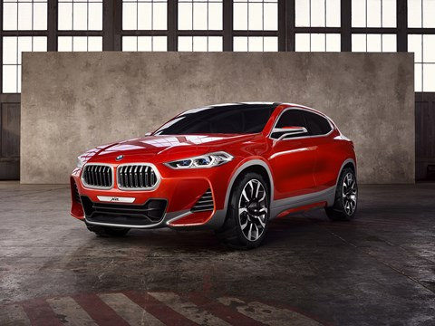 The new BMW Concept X2