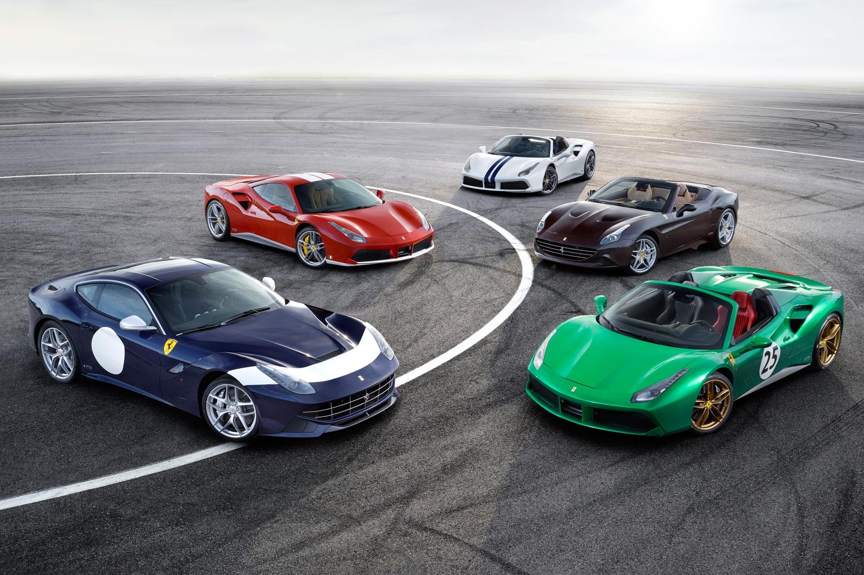 70th anniversary ferrari liveries car magazine uk