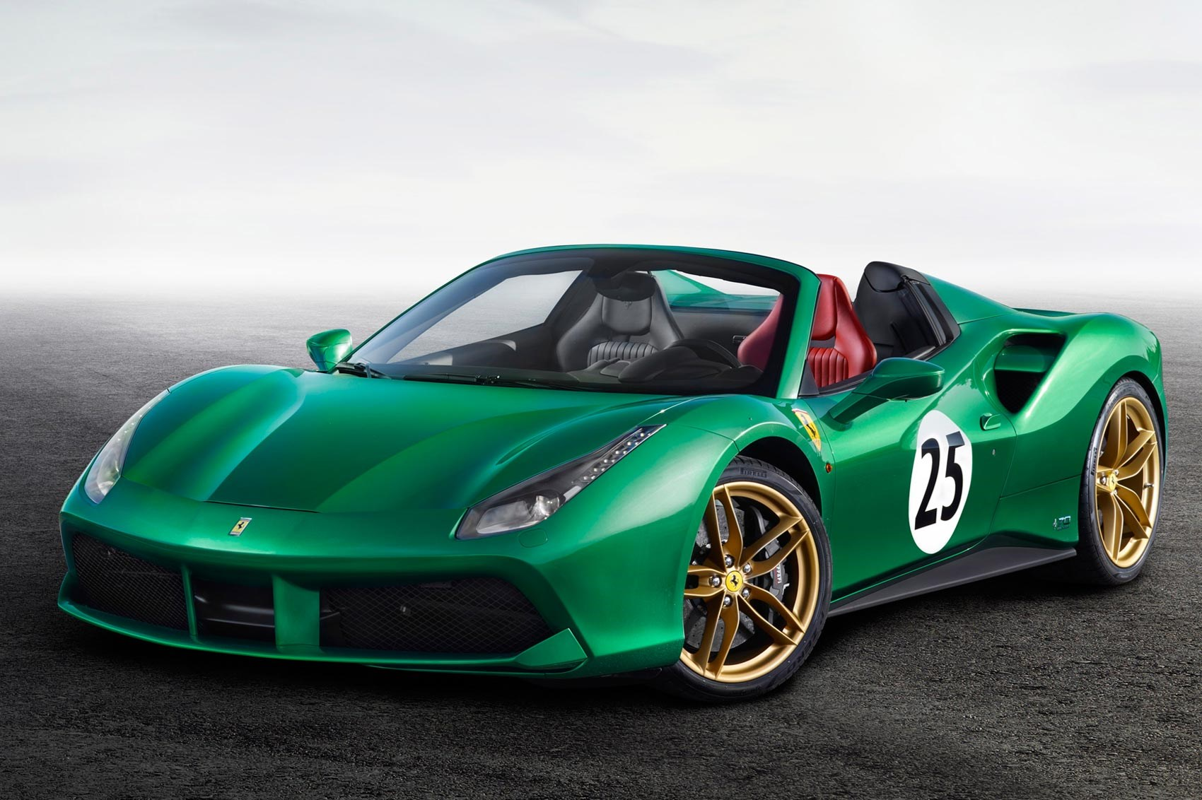 Ferrari Launches 70 Year Anniversary Models At Paris 2016