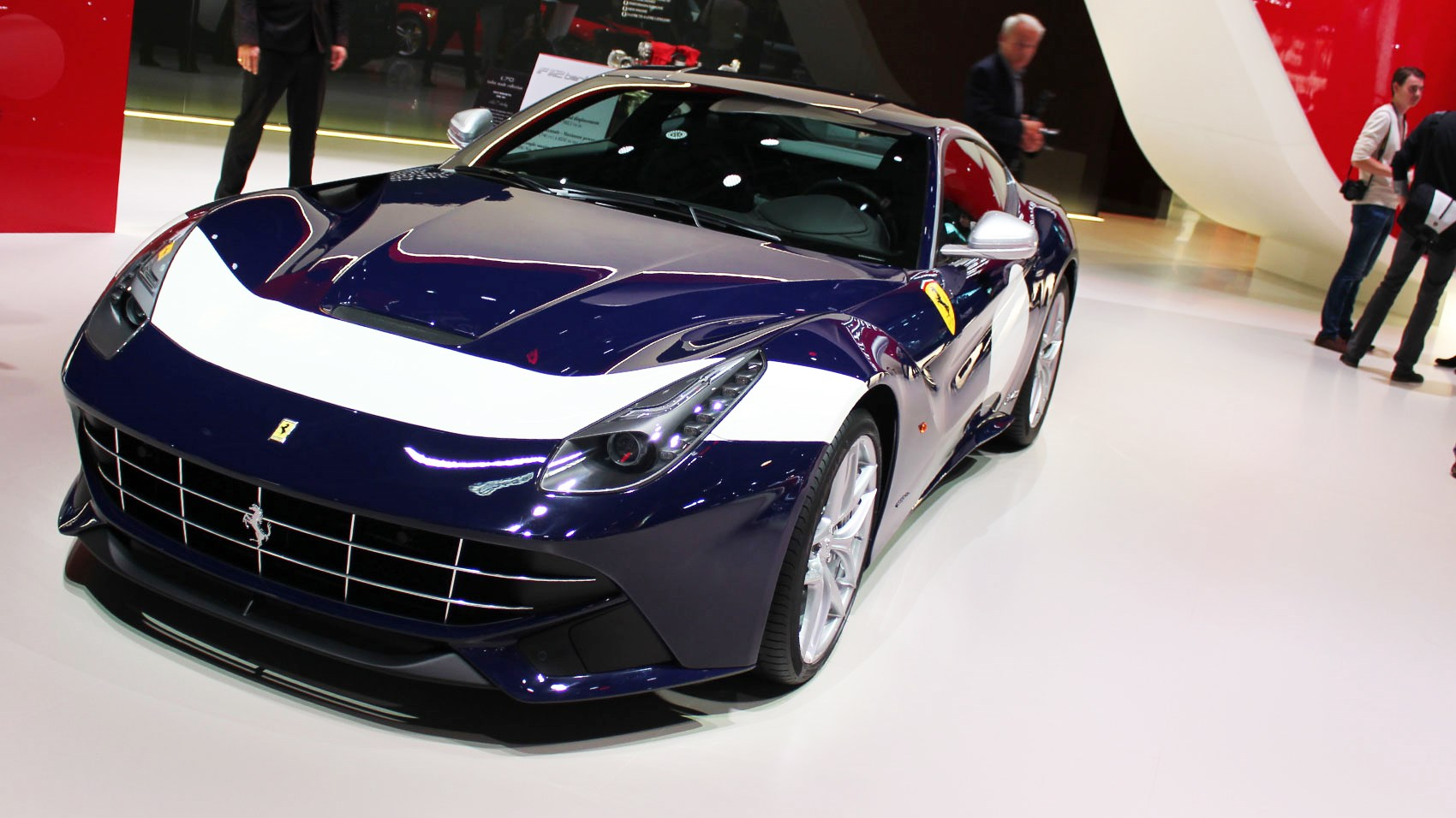 Ferrari Launches Year Anniversary Models At Paris CAR Magazine - Ferrari car show