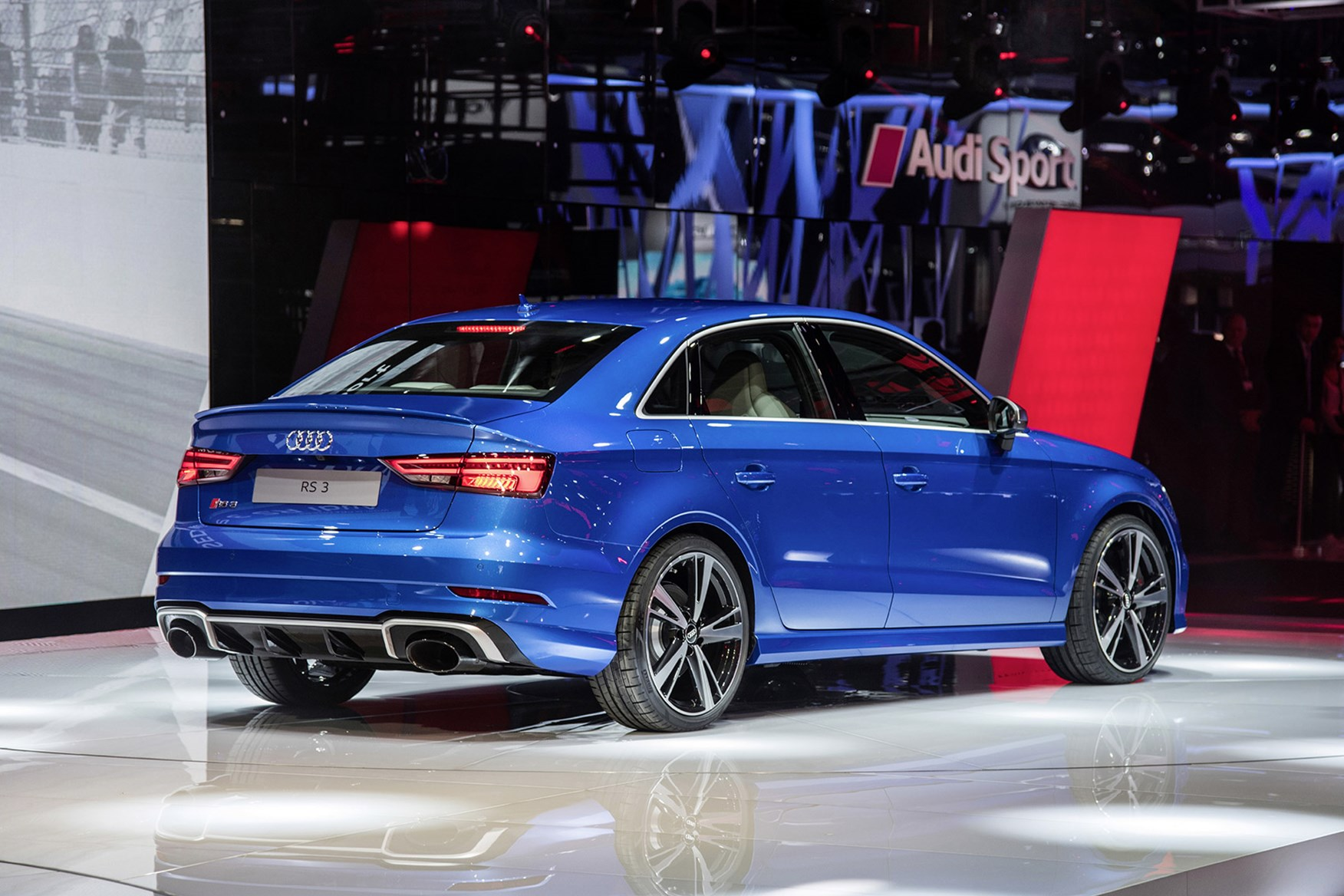 Audi S Fast Four Door Returns New Rs3 Saloon Unveiled Car Magazine