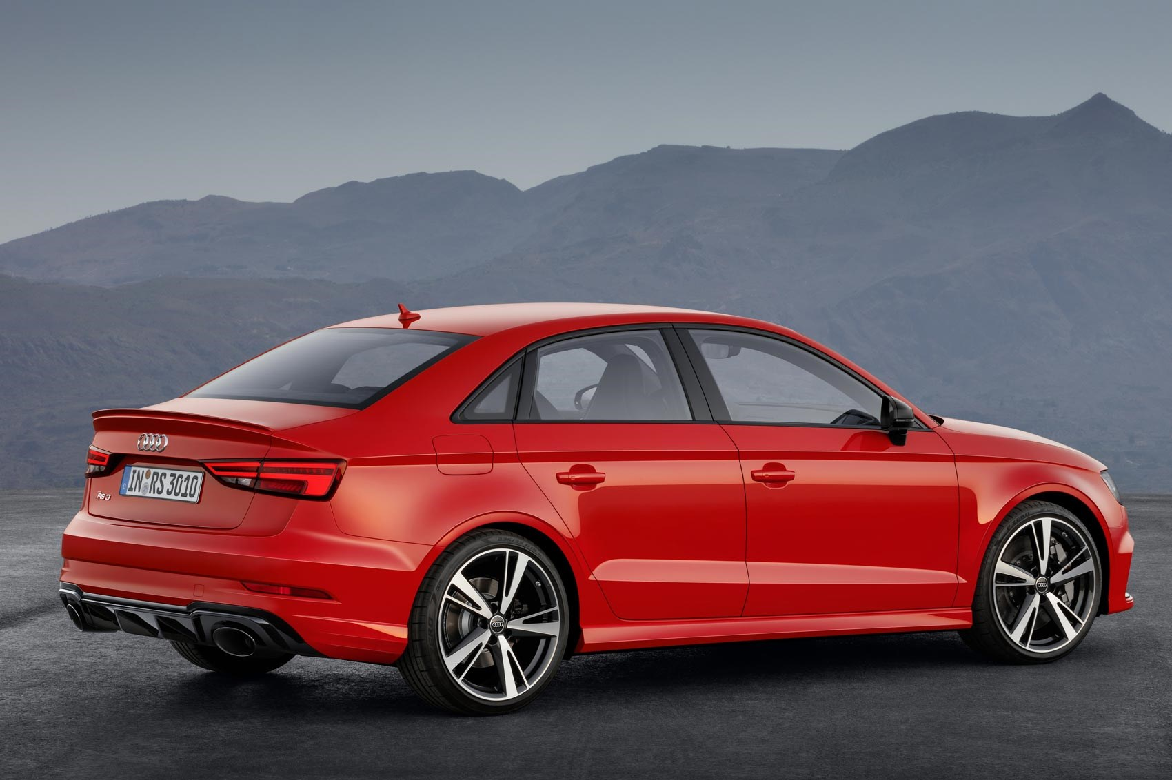 Audi S Fast Four Door Returns New Rs3 Saloon Unveiled By