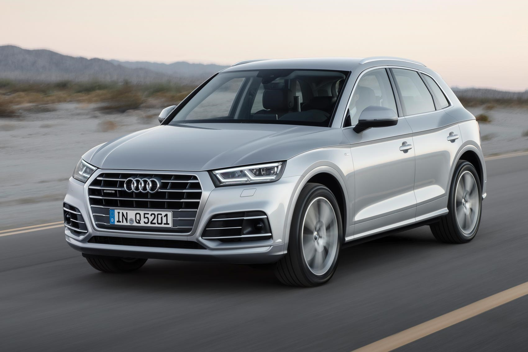 2017 audi q5 revealed in paris by car magazine. Black Bedroom Furniture Sets. Home Design Ideas