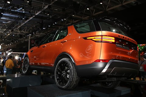 New Land Rover Discovery at Paris