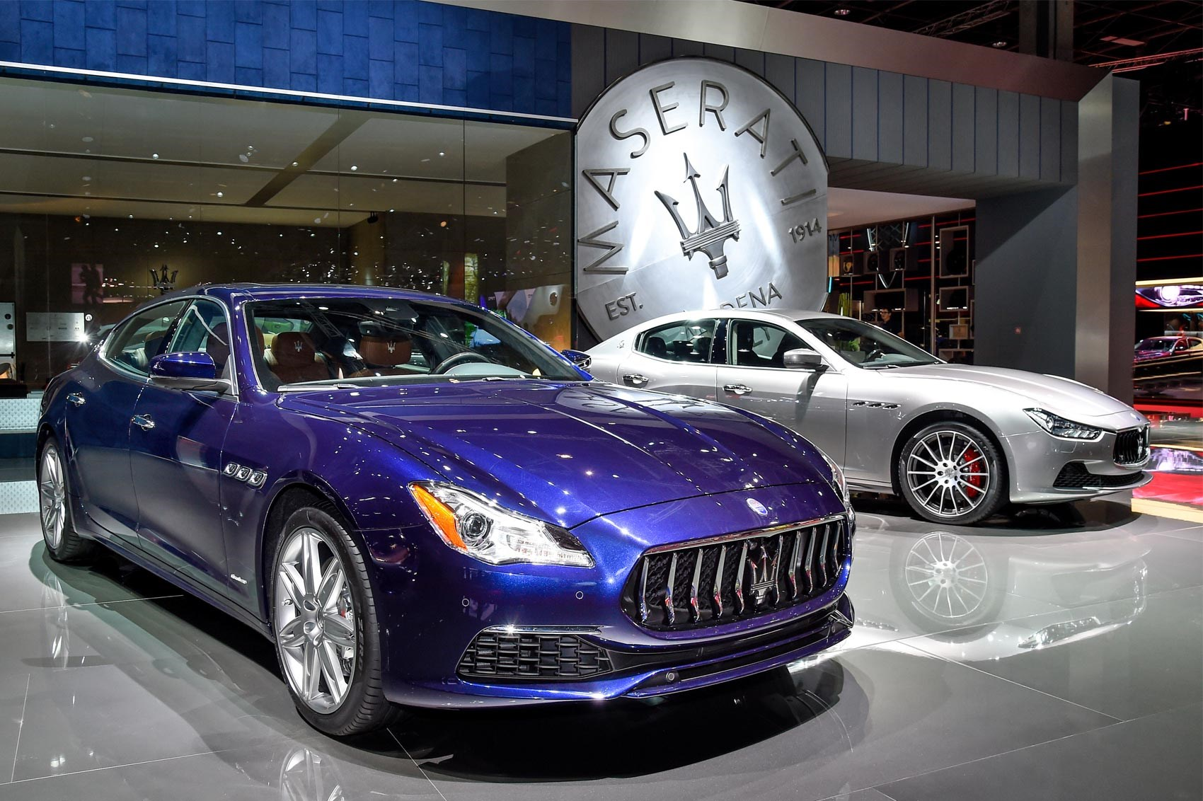 Revamped maserati quattroporte and ghibli make paris debut by car facelifted maseratis at the paris motor show sciox Gallery