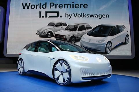 2016 Volkswagen I.D. concept