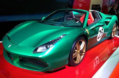 2016 Ferrari 70-year anniversary line