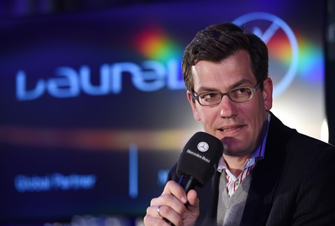 Jens Thiemer: the marketing chief at Mercedes-Benz for the EQ project