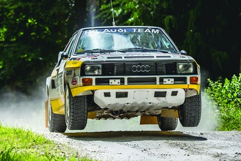 Group B rally cars: celebrated at the 2017 Goodwood Festival of Speed