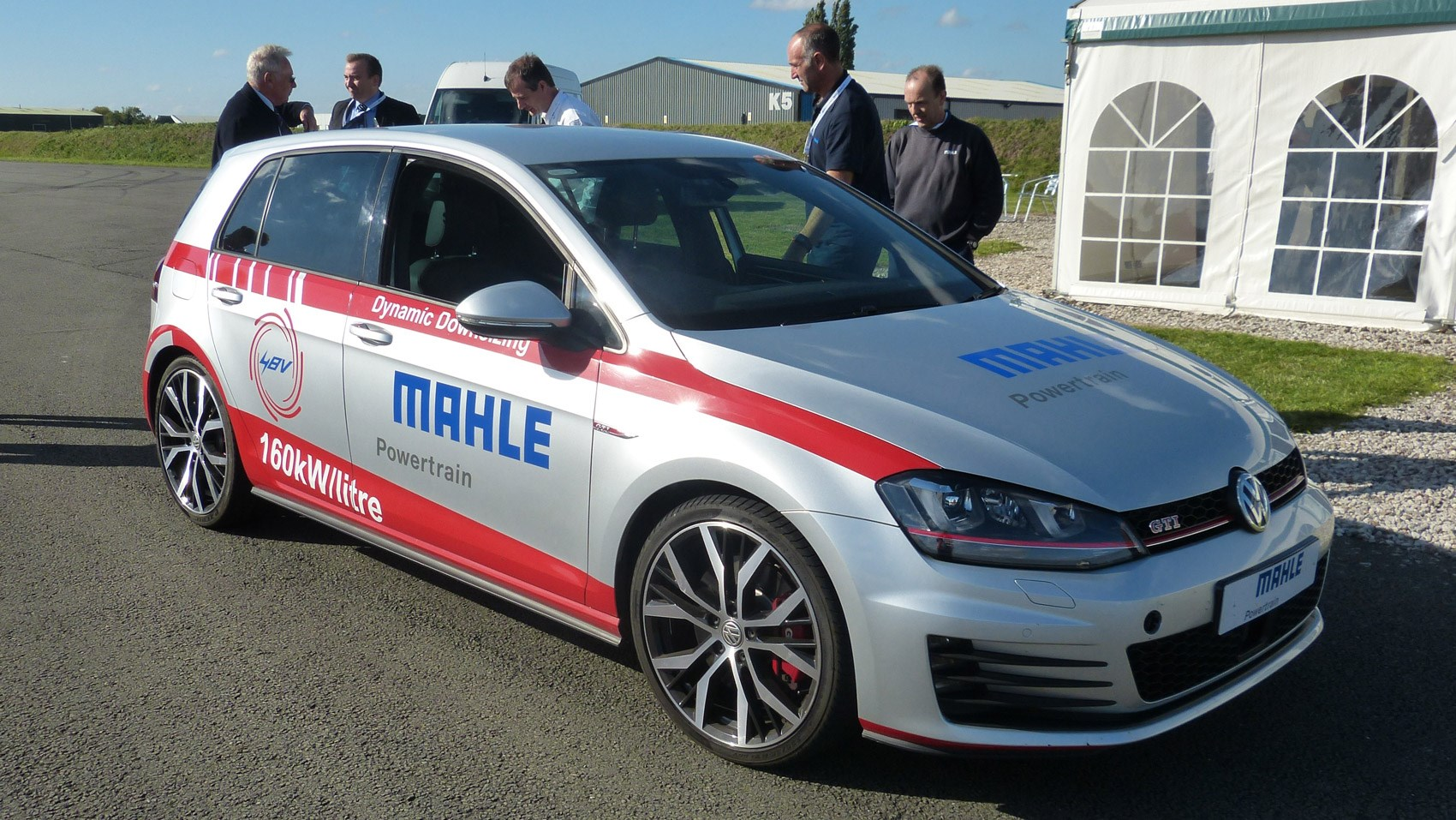vw golf gti  mahle  litre  cyl prototype  review  car magazine