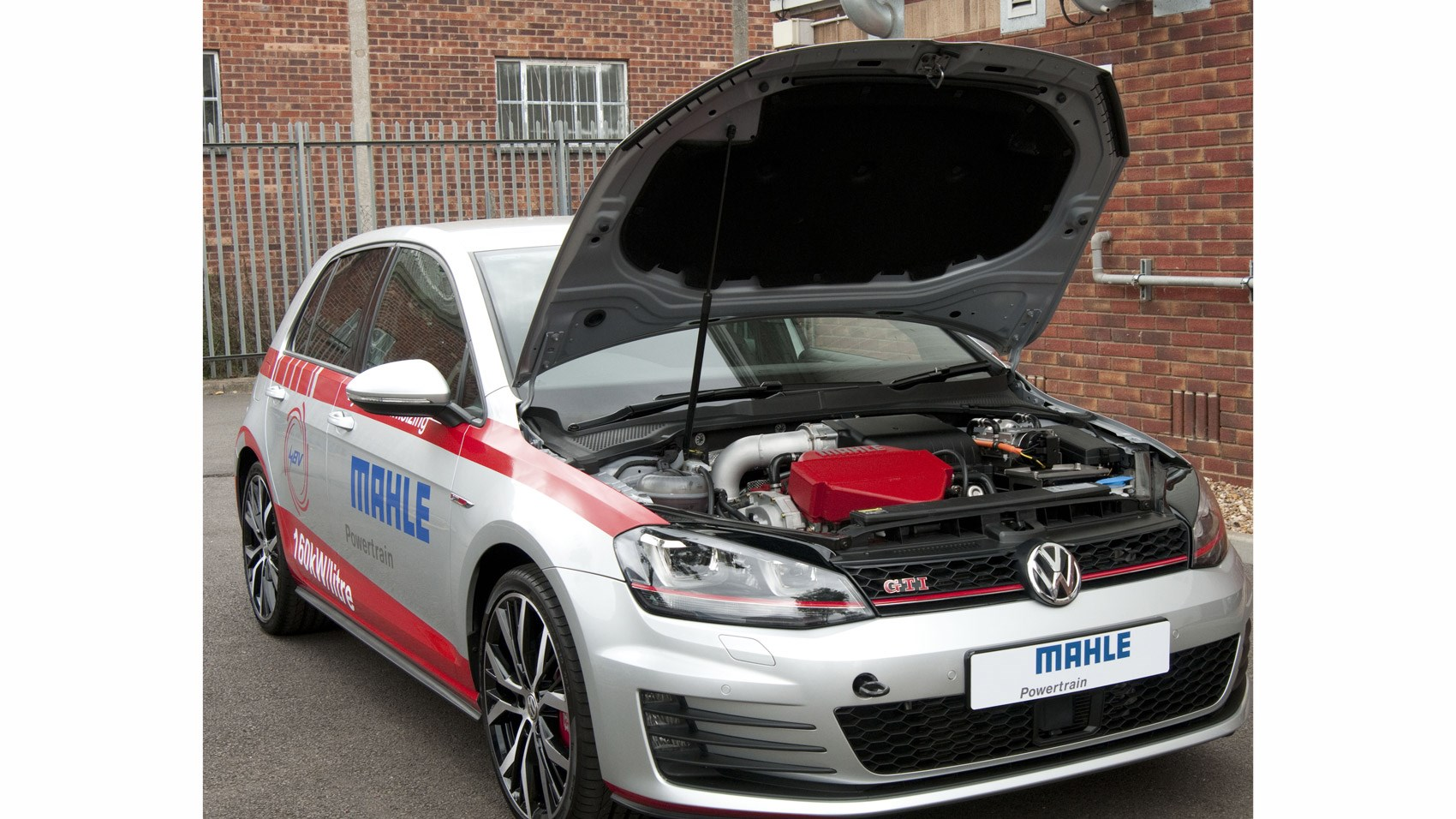 VW Golf GTI by Mahle 1 2-litre 3-cyl prototype (2016) review