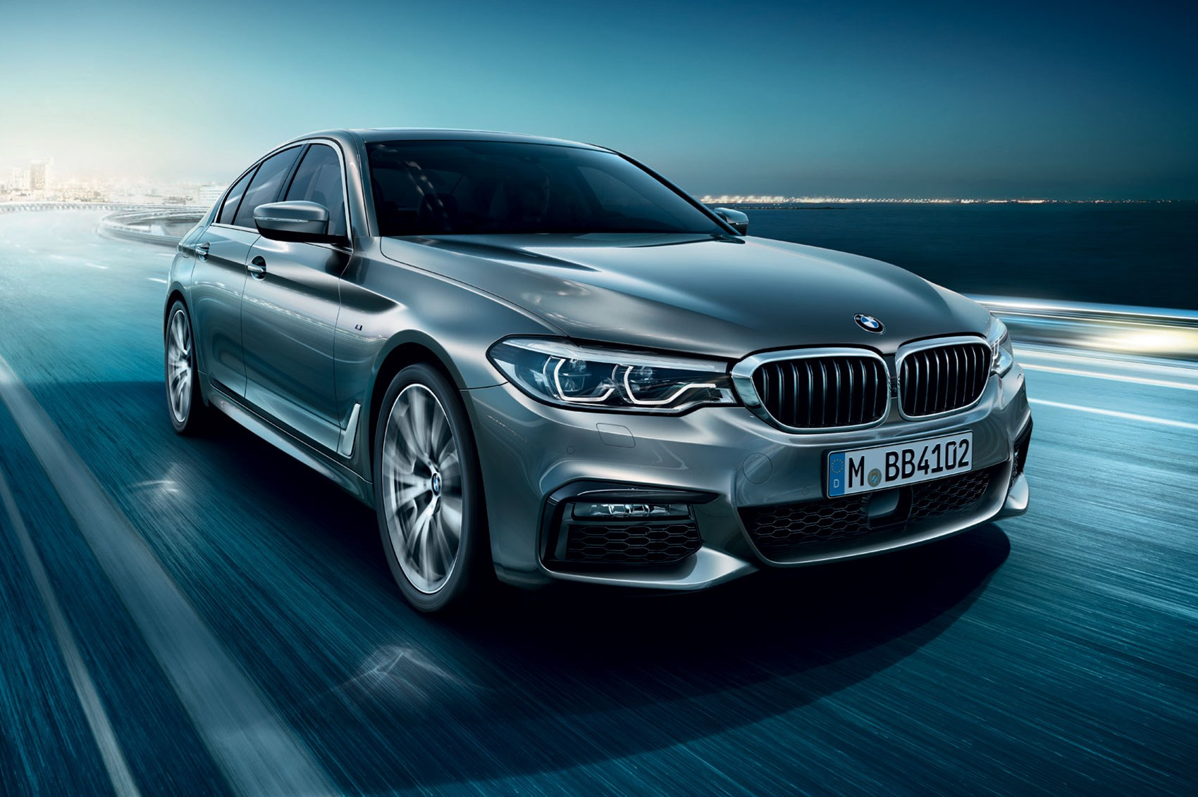 new 2017 bmw 5 series revealed lighter quicker more advanced car magazine. Black Bedroom Furniture Sets. Home Design Ideas