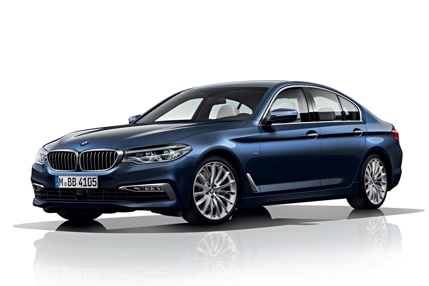 new 2017 bmw 5 series revealed lighter quicker more. Black Bedroom Furniture Sets. Home Design Ideas