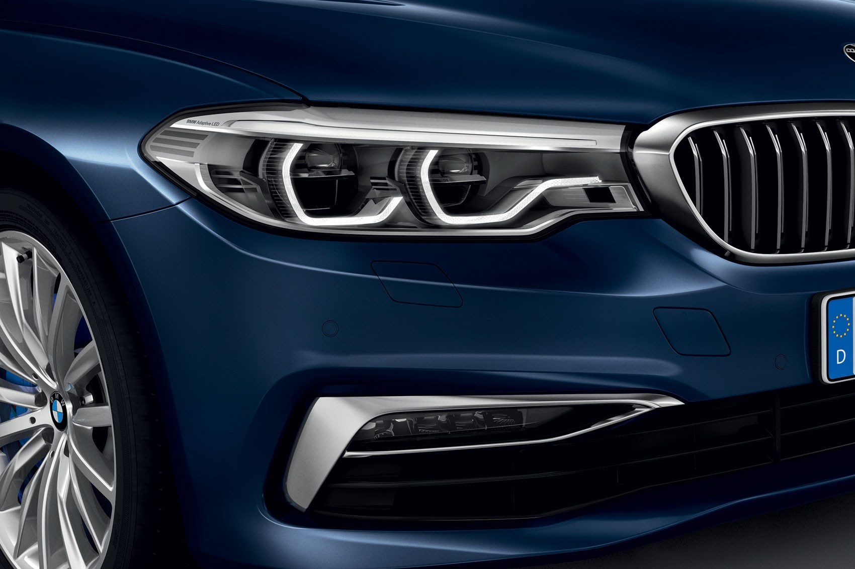 BMW 5 Series: Selection lists in the instrument cluster