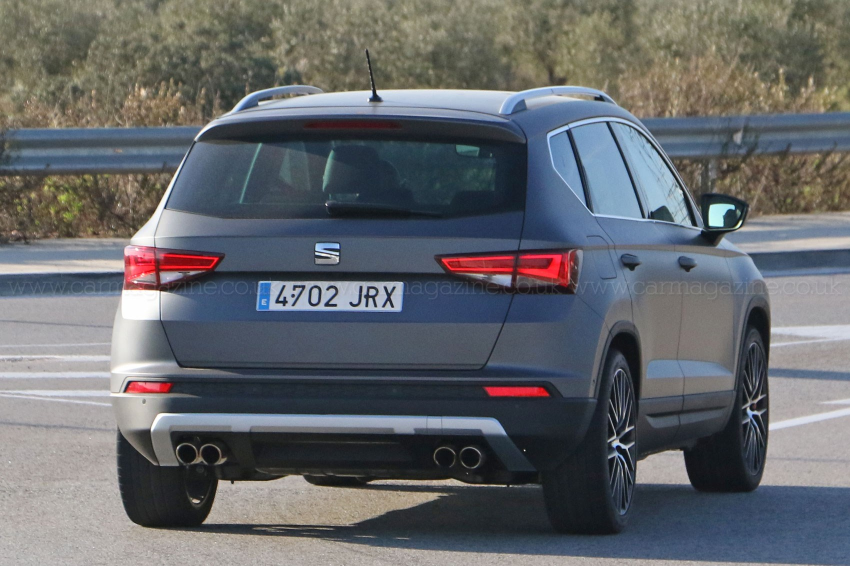 You Ain T Seen Me Right 2017 Seat Ateca Cupra Prototype Spotted By Car Magazine
