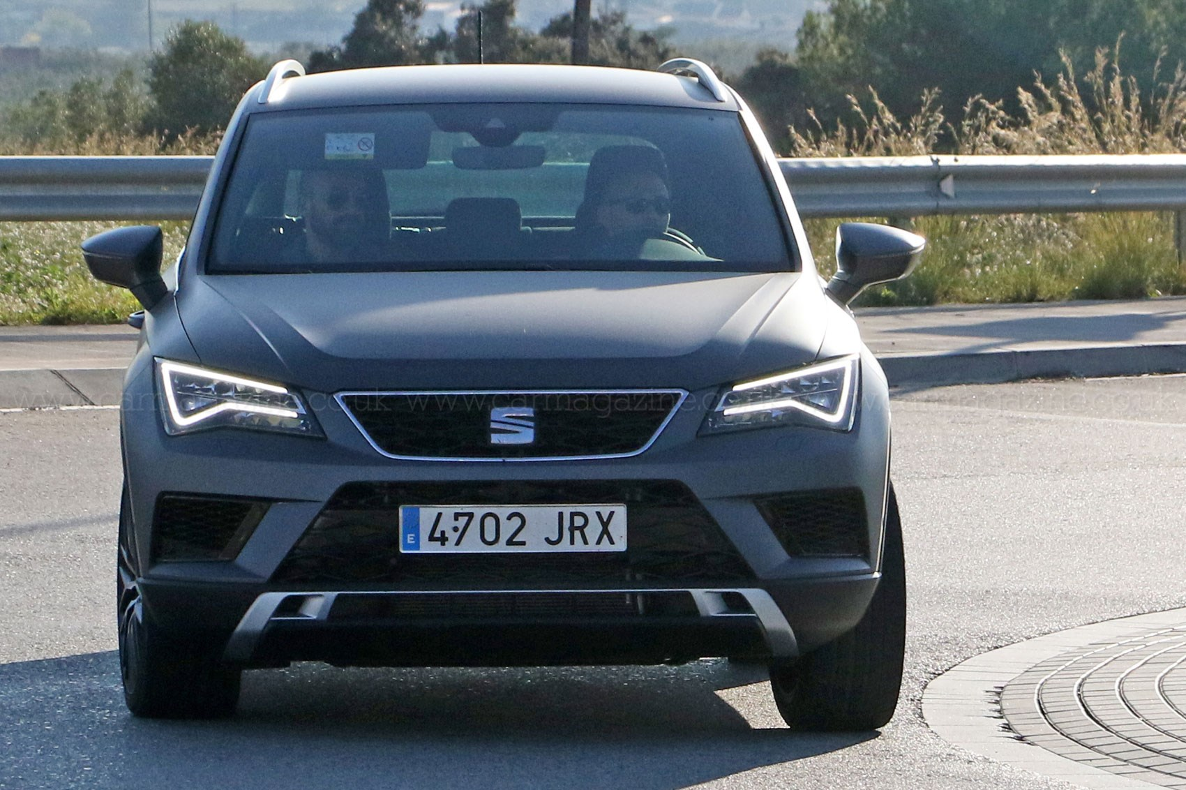 you ain 39 t seen me right 2017 seat ateca cupra prototype spotted car magazine. Black Bedroom Furniture Sets. Home Design Ideas