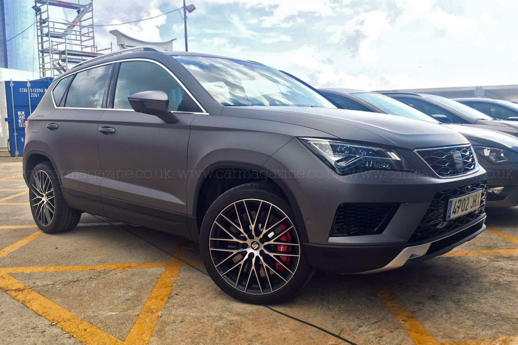 you ain 39 t seen me right 2017 seat ateca cupra prototype spotted by car magazine. Black Bedroom Furniture Sets. Home Design Ideas