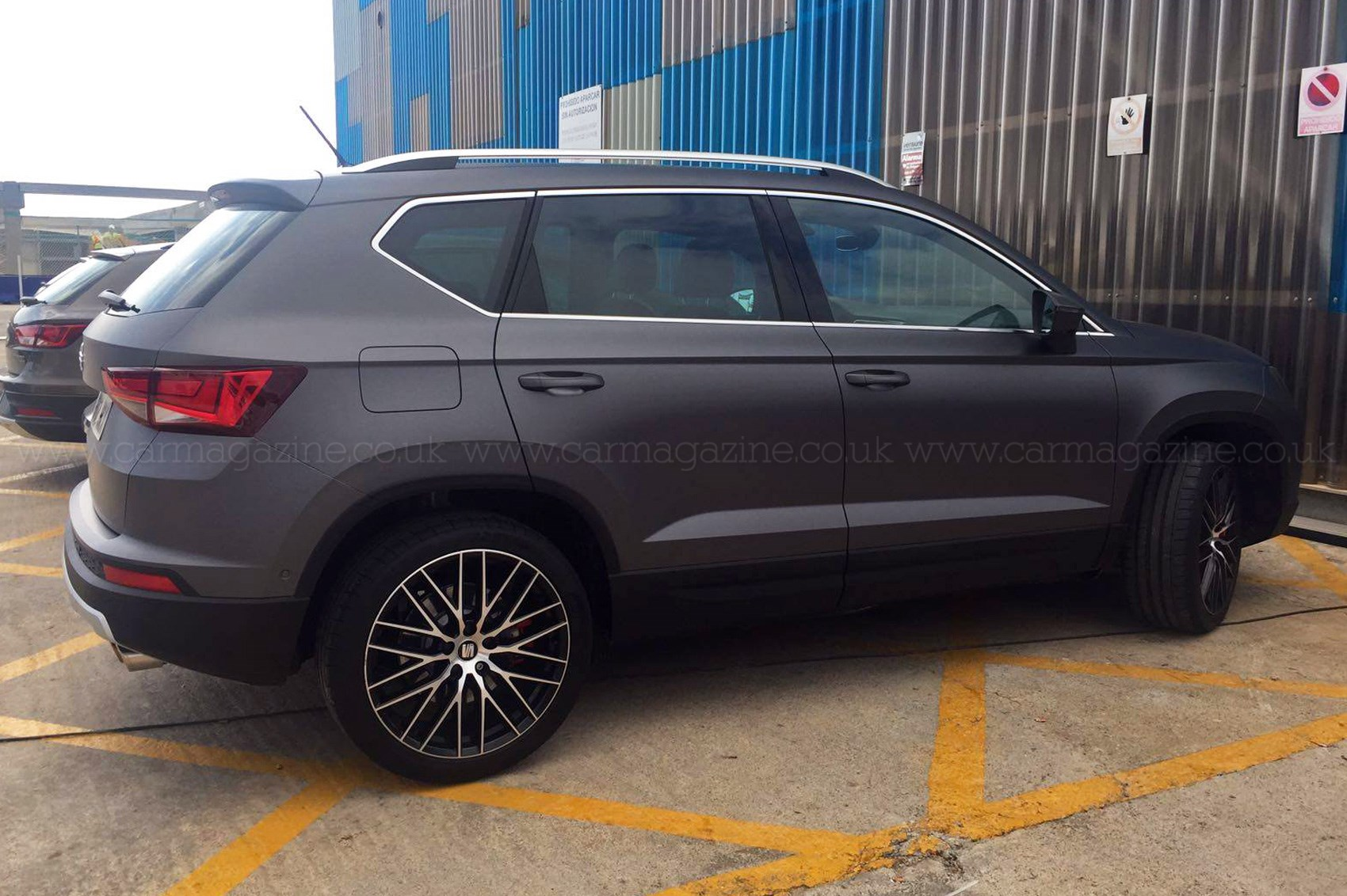 You ain't seen me, right? 2017 Seat Ateca Cupra prototype ...