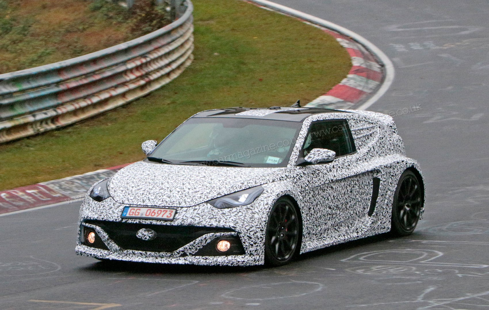 Hyundai Rm16 >> Hyundai Rm16 Mid Engined Hyper Hatch Spied At The Nurburgring By Car